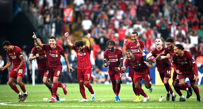Liverpool Beat Chelsea To Win UEFA Super Cup