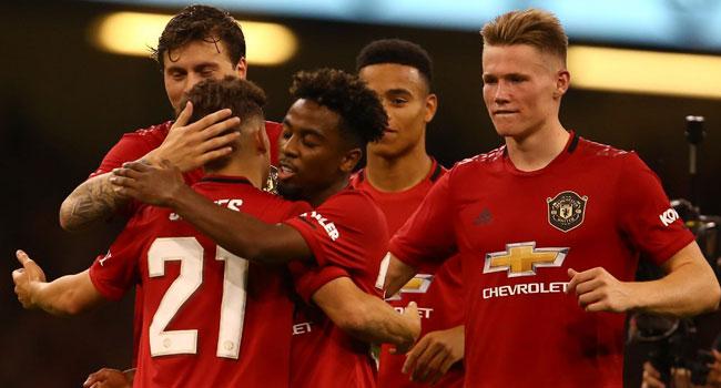 James Stars As United Beat Milan