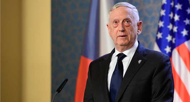 Jim Mattis: 'We're Better Than Our Current Politics'