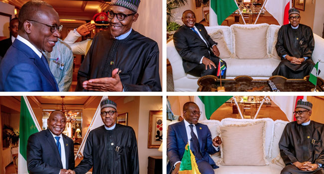 Killing Of Nigerians In South Africa: We Are Looking Into It – Ramaphosa Tells Buhari