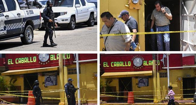 Arson attack on Mexico bar kills 23