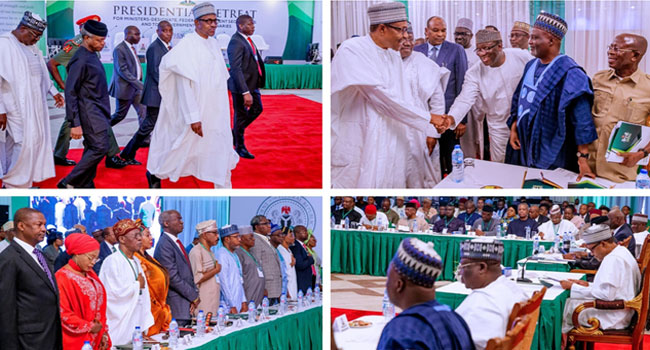 Buhari's Cabinet To Be Sworn-In Today