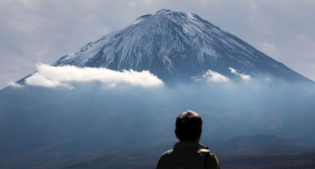 Falling Rock Kills Russian Climber At Mountain Fuji