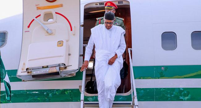 President Buhari Travels To Daura For Sallah