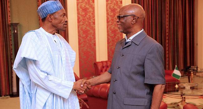 Oyegun: True Example Of A Patriot, Democrat  – Buhari