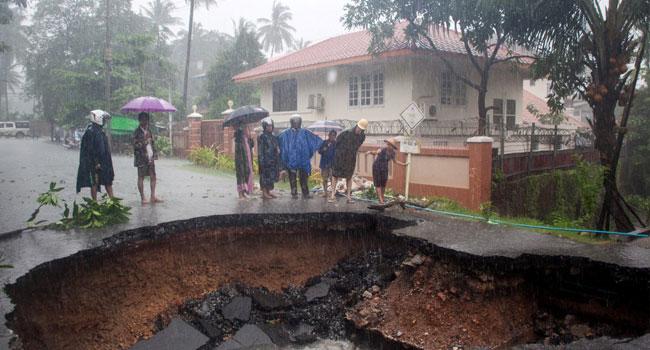 13 Killed In Myanmar Monsoon Landslide