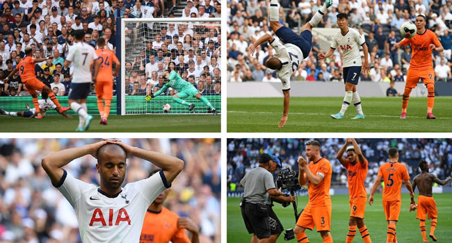 Newcastle Stun Insipid Spurs With Helping Hand From VAR