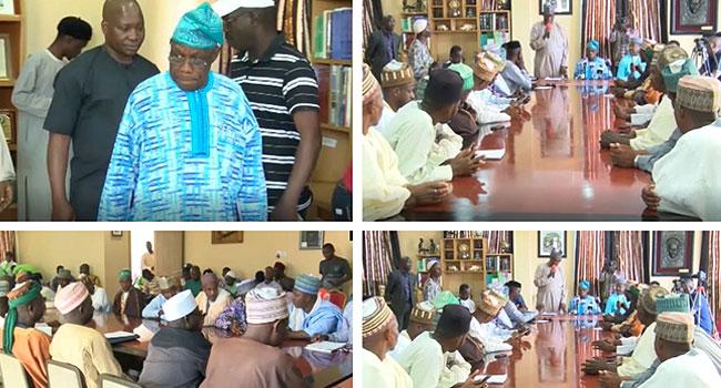 Obasanjo Meets With Representatives Of Fulani Community