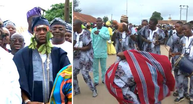 PHOTOS: Ajibade Ogunoye Installed As 32nd Olowo Of Owo