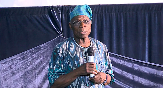 Obasanjo Calls For Development In Education Sector
