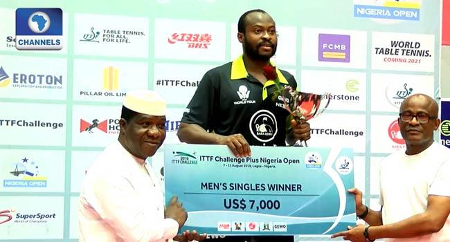 Back-To-Back Champion: Quadri Wins Nigeria Table Tennis Open Title
