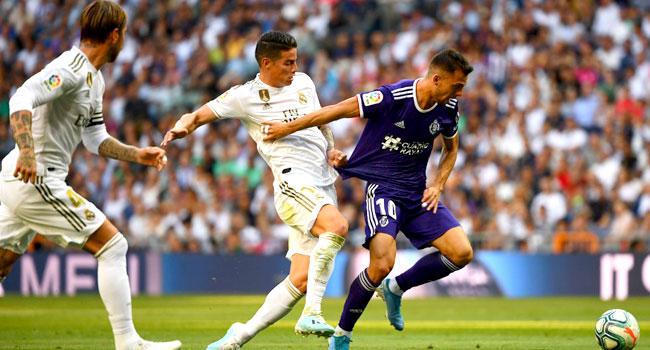 Valladolid Grab Late Equaliser Against Madrid At Santiago Bernabeu