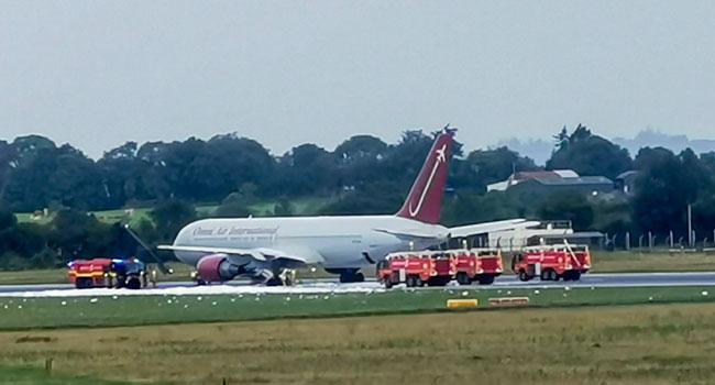 Flights Suspended In Irish Airport After Fire Guts Runway