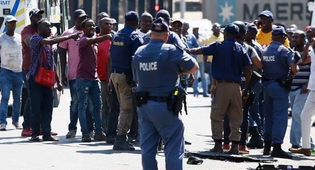 Four South African Police Arrested Over Alleged Murder Of Nigerian Businessman