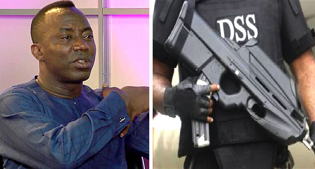 Sowore Challenges Powers Of DSS To Arrest, Prosecute Him In Court