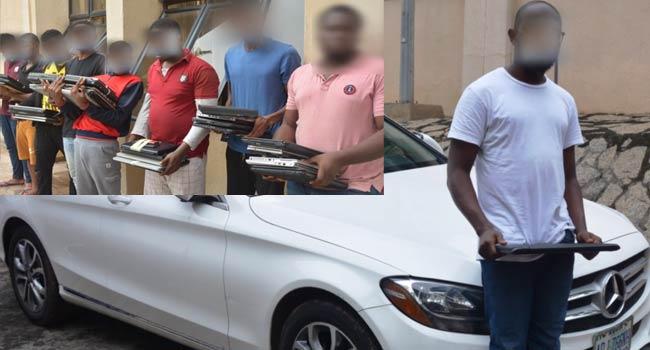 EFCC Arrests 33 Suspected Internet Fraudsters In Imo