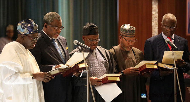Top Photos From Ministerial Inauguration Ceremony