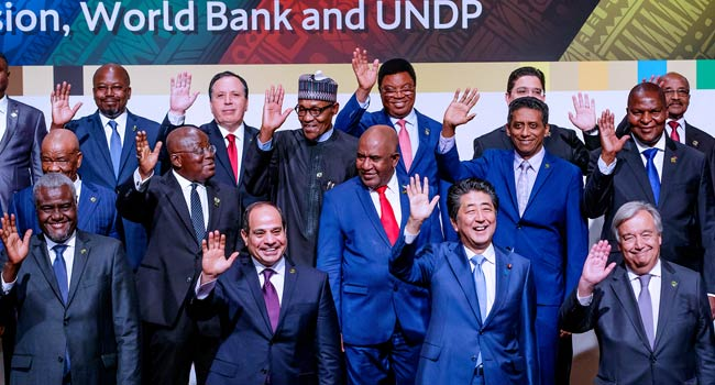 President Buhari Attends TICAD Opening Ceremony In Japan