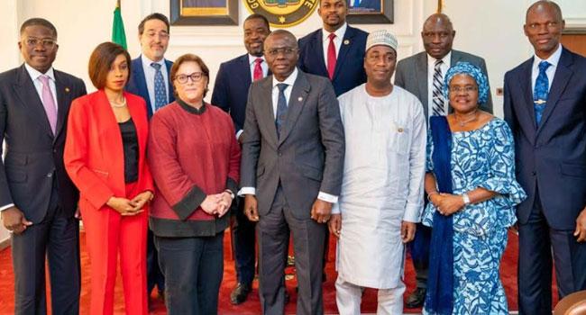 PHOTOS: New US Consul-General Visits Sanwo-Olu