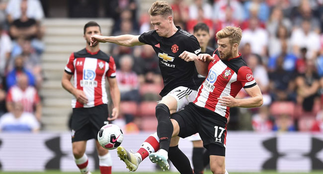 Struggling United Drop Point At Southampton