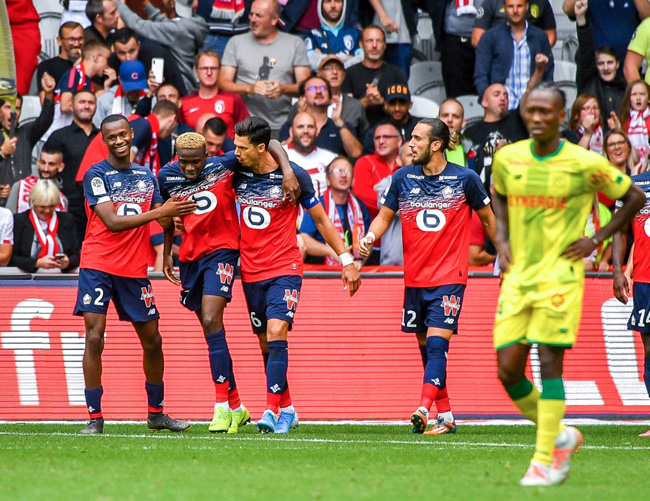 Osimhen scores brace on debut for Lille to win season opener