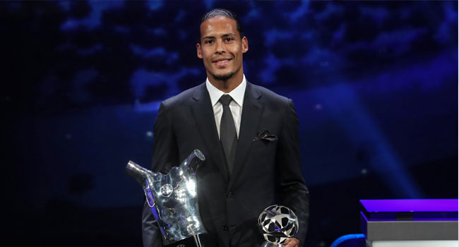 Van Dijk Battle Ronaldo, Messi For FIFA Award