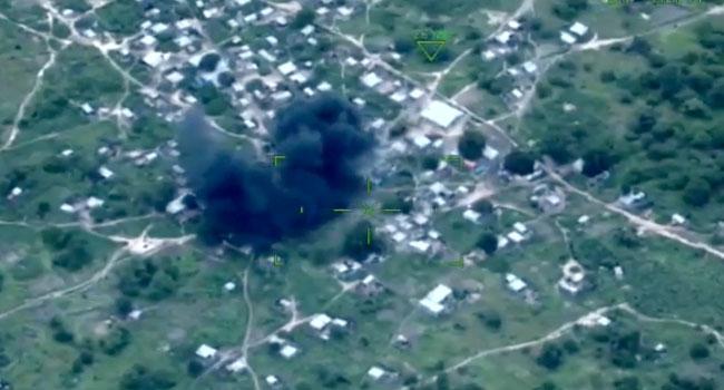 Several Boko Haram Terrorists Killed As NAF Destroys Hideout In Sambisa
