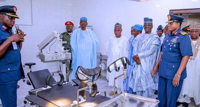 Buhari Inaugurates Air Force Hospital In Daura