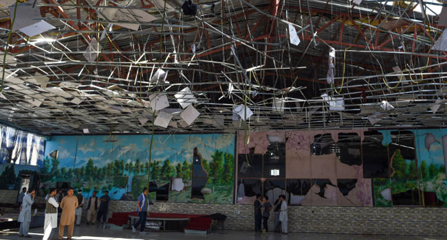 Suicide Bomber Kills 63 At Wedding In Kabul