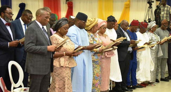 Image result for Sanwo-Olu cabinet