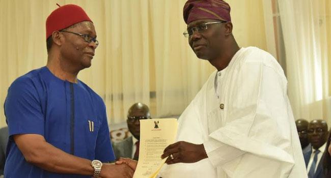 PHOTOS: Sanwo-Olu Swears In Cabinet Members