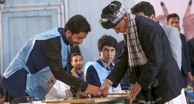 Afghans Vote In Presidential Election Amid Deadly Violence