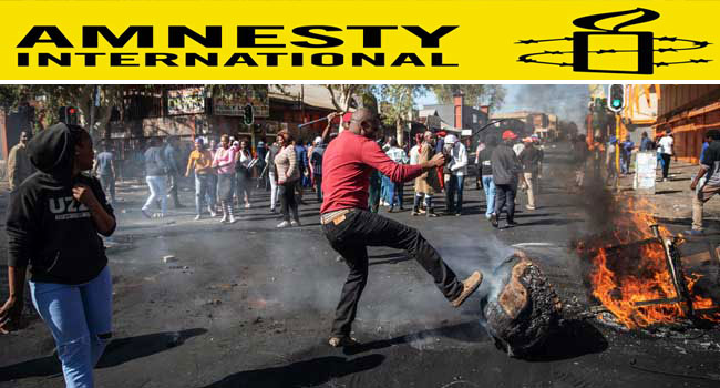South African Authorities Must Stop 'Fuelling Xenophobia' – Amnesty International