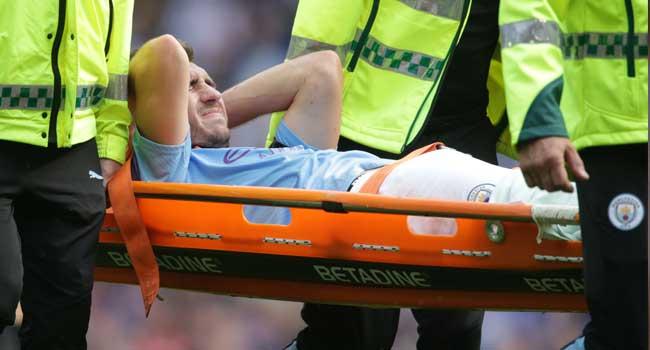 Manchester City's Laporte Undergoes Knee Surgery