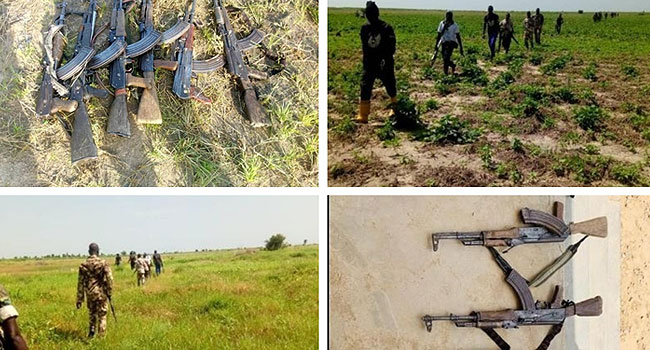 Many Terrorists Reportedly Killed As Troops Rid Borno Village Of Insurgents