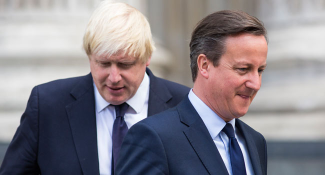 Johnson Behaved 'Appallingly' During Brexit Pre-Vote Campaign, Says Cameron