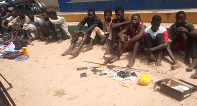 PHOTOS: Gombe Police Command Parades Burglars