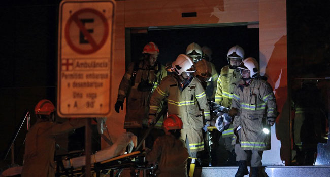 At Least 11 Dead In Rio Hospital Blaze