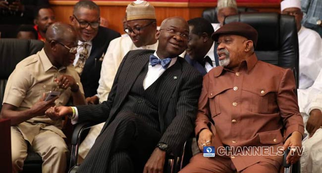 Buhari's Ministers, Secondus, Others Storm Courtroom As Tribunal Rules On Atiku's Petition