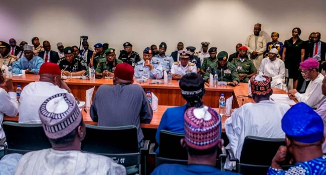 COAS, IGP, Absent As Service Chiefs Finally Appear Before Reps