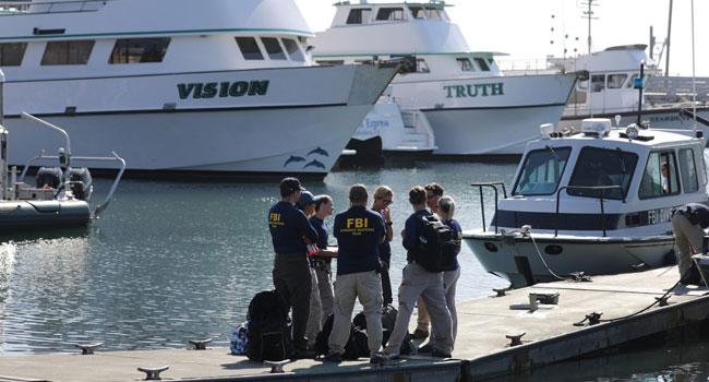California scuba diving boat blaze leaves at least 25 dead