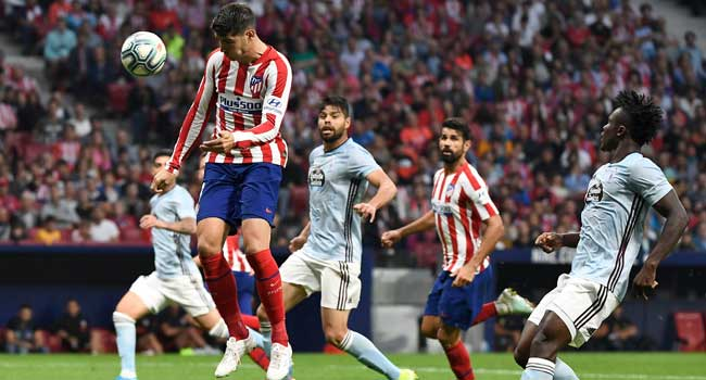 Celta Hold Atletico To Draw In Madrid