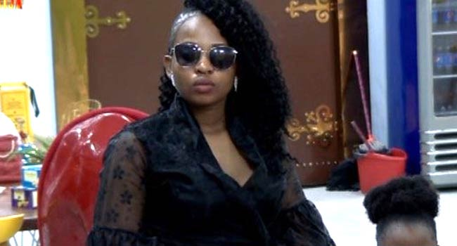 Cindy Evicted From BBNaija Reality Show