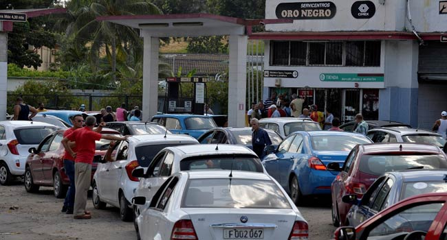 With Queues And Blackouts, Cubans Suffer Fuel Crisis