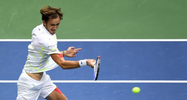 Medvedev Wins Third Set Of US Open Final