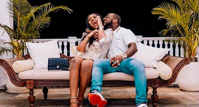 Davido Goes Into Self-Isolation As Fiancée, Chioma Tests Positive For COVID-19