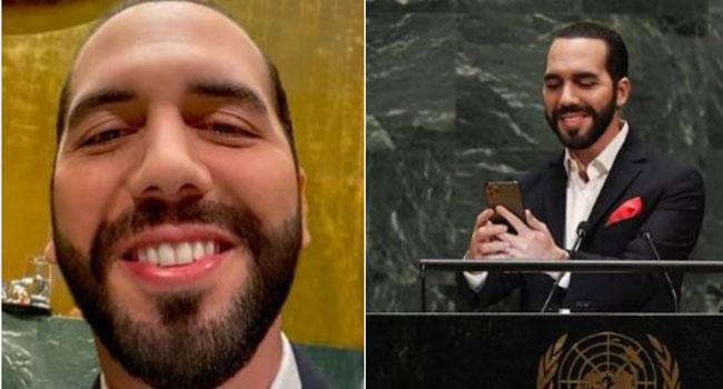 First Let Me Take A Selfie, El Salvador's President Tells UN