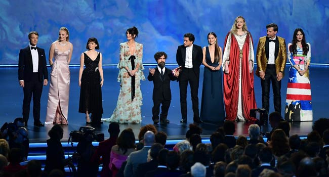 'Game Of Thrones' Wins Top Emmy For Best Drama Series