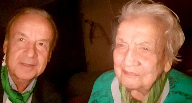 Gernot Rohr's Mother Dies At 97