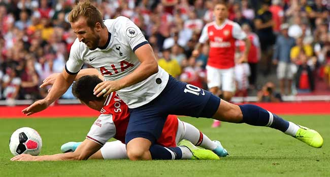 Kane Rejects Diving Claims In Tottenham, Arsenal Clash